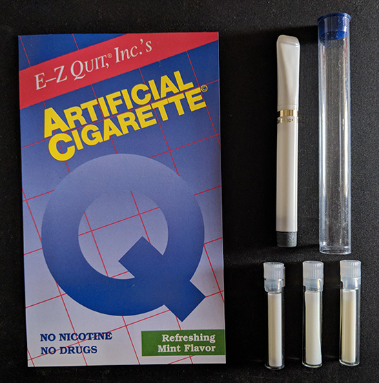 E-Z Quit ArtificialCigarette Starter Kit (1 ArtificialCigarette + 3 Cartridges)